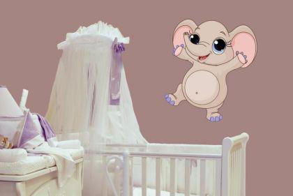 Wandtattoo Babyfant Motiv Nr. 5