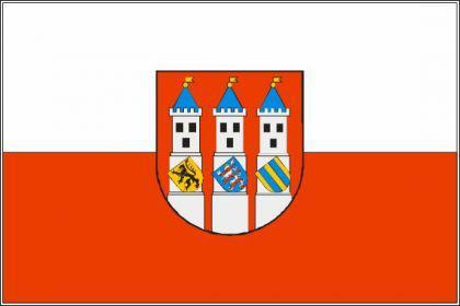 Flagge Fahne Bad Langensalza 90 x 150 cm - Vorschau