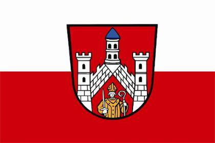 Flagge Fahne Bad Neustadt an der Saale 90 x 150 cm