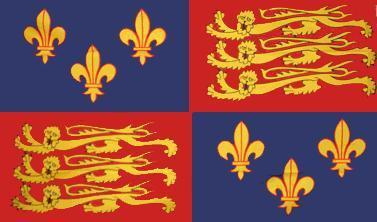 Flagge Fahne Royal Banner 1485-1547 90 x 150 cm - Vorschau