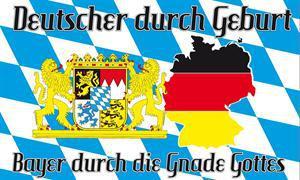 Flagge Fahne Bayern Gnade Gottes 90 x 150 cm