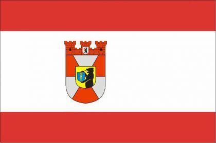 Flagge Fahne Berlin Mitte 90 x 150 cm