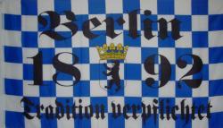 Flagge Fahne Berlin 1892 Tradition 90 x 150 cm