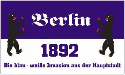 Flagge Fahne Berlin Invasion 90 x 150 cm - Vorschau