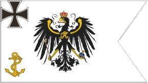 Flagge Fahne Topflagge Binnenschiff. 90 x 150 cm - Vorschau