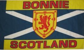 Flagge Fahne Bonnie Scotland 90 x 150 cm - Vorschau