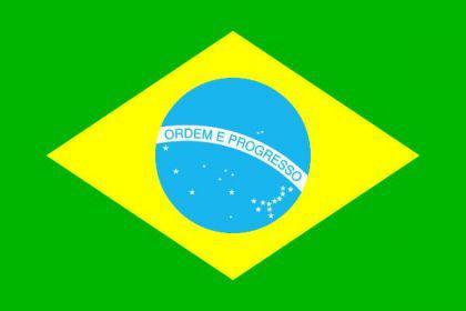 Flagge Fahne Brasilien 90 x 150 cm - Vorschau