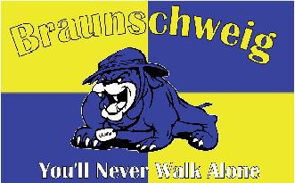 Flagge Fahne Braunschweig You'll never 90 x 150 cm