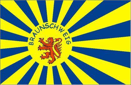 Flagge Fahne Braunschweig Fanflagge 90 x 150 cm - Vorschau