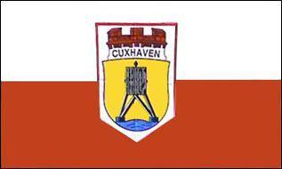 Flagge Fahne Cuxhaven 90 x 150 cm - Vorschau
