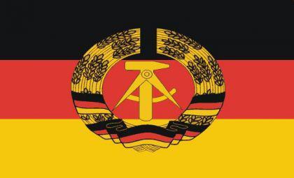 Flagge Fahne DDR 90 x 150 cm - Vorschau