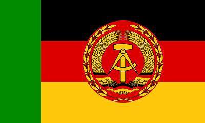 Flagge Fahne DDR Boote Elbe Oder Trup. 90 x 150 cm - Vorschau