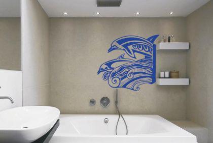 wandtattoo delfine kaufen bei. Black Bedroom Furniture Sets. Home Design Ideas