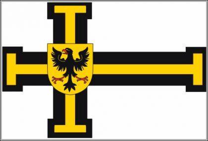 Flagge Fahne Deutscher Orden Hochm. 90 x 150 cm