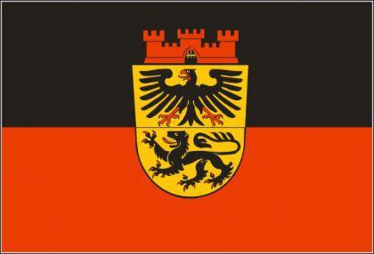 Flagge Fahne Düren 90 x 150 cm - Vorschau