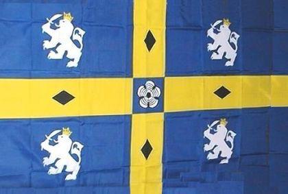 Flagge Fahne Durham County 90 x 150 cm