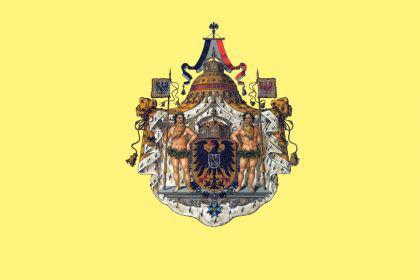 Flagge Fahne DR Kaiserwappen 90 x 150 cm