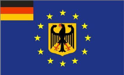 Flagge Fahne Europa Deutschland Adler 90 x 150 cm