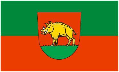 Flagge Fahne Ebersbach an der Filz 90 x 150 cm