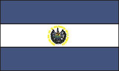 Flagge Fahne El Salvador 90 x 150 cm - Vorschau