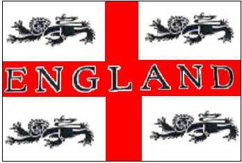 Flagge Fahne England 4 Löwen 90 x 150 cm
