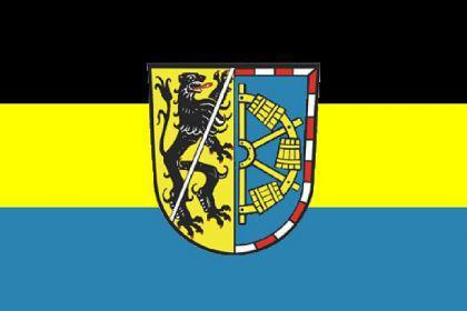 Flagge Fahne LK Erlangen Hoechstadt 90 x 150 cm - Vorschau