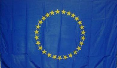 Flagge Fahne Europa 25 Sterne 90 x 150 cm