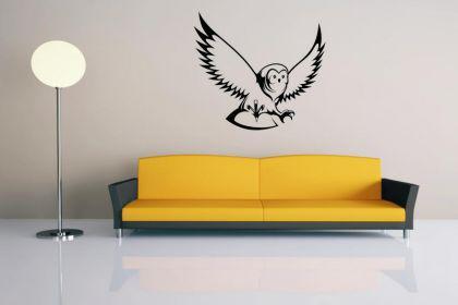 wandtattoo eule motiv nr 2 kaufen bei. Black Bedroom Furniture Sets. Home Design Ideas
