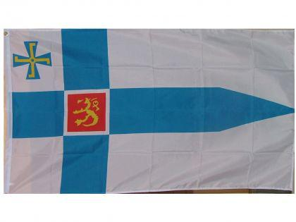 Flagge Fahne Finnland Präsident 90 x 150 cm - Vorschau