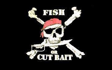 Flagge Fahne Fish or cut bait 90 x 150 cm - Vorschau