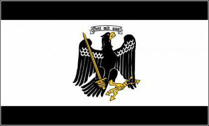 Flagge Fahne Freistaat Preussen 90 x 150 cm - Vorschau
