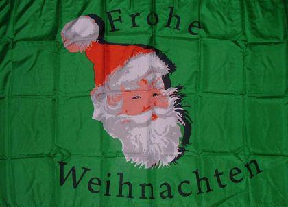 Flagge Fahne Frohe Weihnachten V 90 x 150 cm