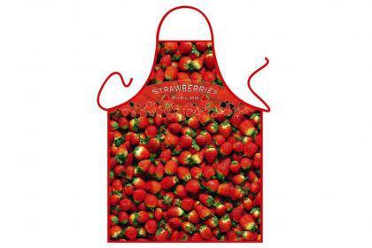 Schürze Erdbeeren 56 x 73 cm