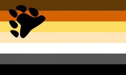 Flagge Fahne Gay Pride Bear 90 x 150 cm - Vorschau