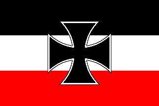 Flagge Fahne Gösch Kriegsmarine 90 x 150 cm - Vorschau