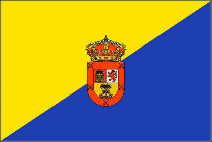Flagge Fahne Gran Canaria 90 x 150 cm - Vorschau