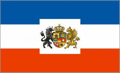 Flagge Fahne Großherzog Meckl-Schwerin 90 x 150 cm