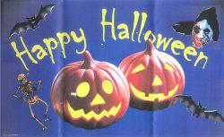 Flagge Fahne Happy Halloween II 90 x 150 cm