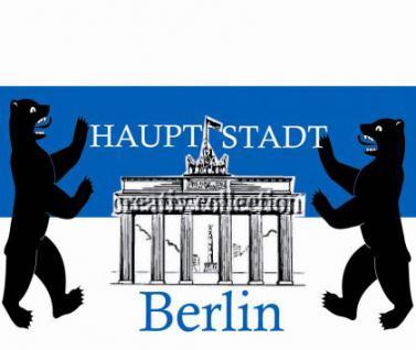 Flagge Fahne Hauptstadt Berlin 90 x 150 cm - Vorschau