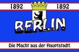 Flagge Fahne Berlin Haupstadt Helden 90 x 150 cm - Vorschau