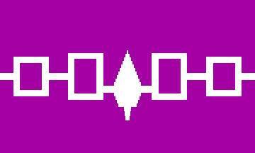 Flagge Fahne Irokesen Bund 90 x 150 cm