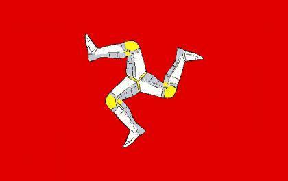 Flagge Fahne Isle of Man 90 x 150 cm - Vorschau