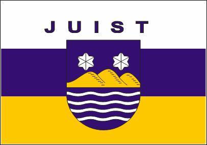 Flagge Fahne Juist 90 x 150 cm - Vorschau