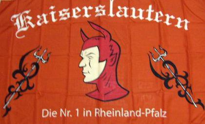 Flagge Fahne Kaiserslautern Fanflagge 90 x 150 cm - Vorschau