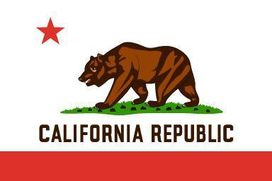 Flagge Fahne Kalifornien 90 x 150 cm - Vorschau