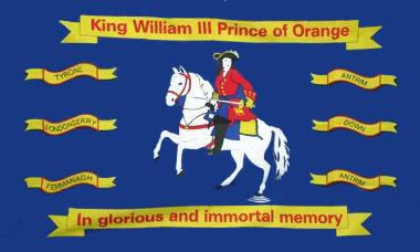 Flagge Fahne King William of Orange 90 x 150 cm - Vorschau