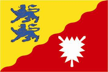 Flagge Fahne Kreis Rendsburg-Eckernf 90 x 150 cm