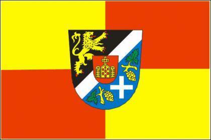 Flagge Fahne Kreis Südl'. Weinstrasse 90 x 150 cm