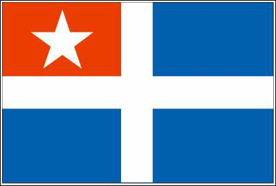 Flagge Fahne Kreta 90 x 150 cm - Vorschau