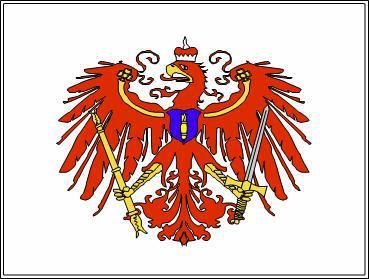 Flagge Fahne Kurbrandenburg. Marine 90 x 150 cm